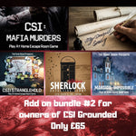 Online Escape Room Add-on Bundle #2 (For CSI: Grounded owners) - The Panic Room Escape Ltd