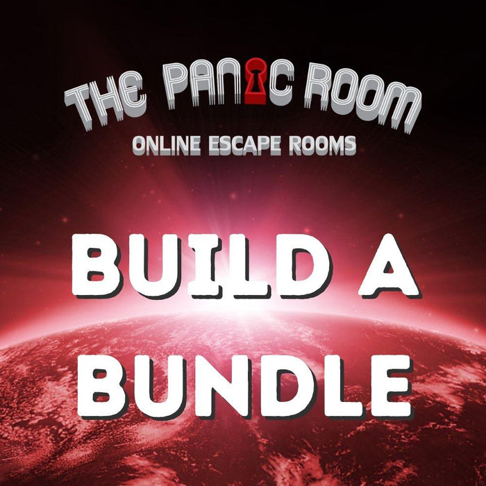 Online Escape Rooms - Build A Bundle - The Panic Room Escape Ltd