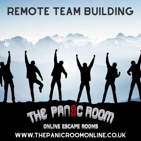 Online Remote Team Building Packages - The Panic Room Escape Ltd