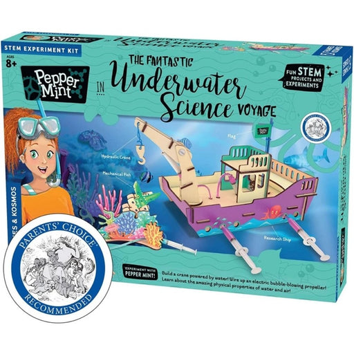 Pepper Mint: Fantastic Underwater Science Voyage Experiment, Stem Kit - The Panic Room Escape Ltd