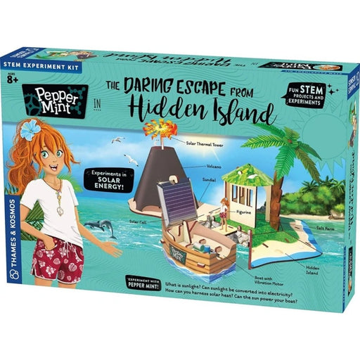 Pepper Mint in The Daring Escape from Hidden Island Story-Based Science Experiment & Model Building Kit & Playset - The Panic Room Escape Ltd