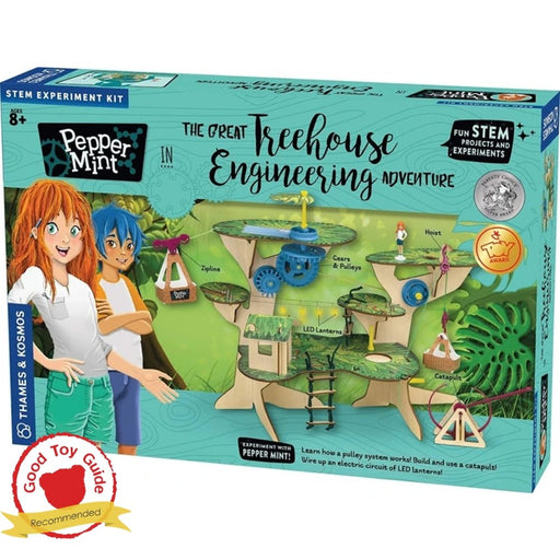 Pepper Mint in The Great Treehouse Engineering Adventure Science Experiment Kit - The Panic Room Escape Ltd
