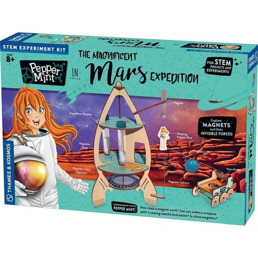 Pepper Mint in The Magnificent Mars Expedition Story-Based Science Experiment & Model Building Kit & Playset - The Panic Room Escape Ltd