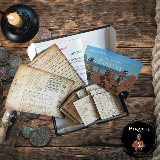 Pirates - Play At Home Puzzle Adventure Trail - The Panic Room Escape Ltd
