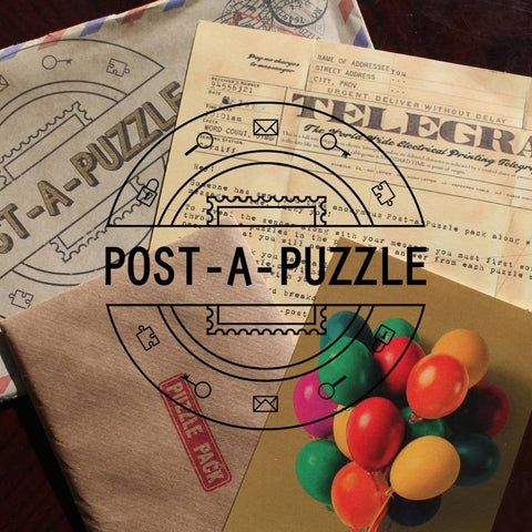 Post-A-Puzzle: Deluxe Puzzle Pack - The Panic Room Escape Ltd