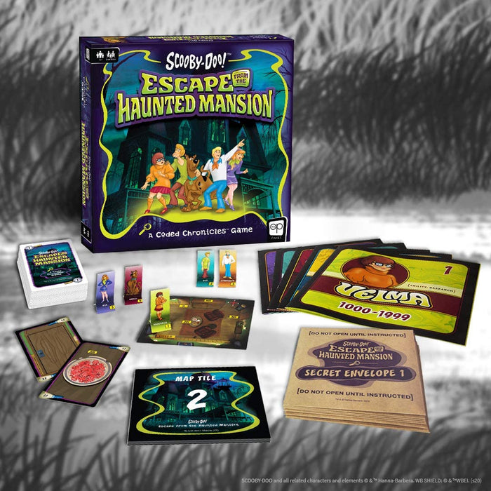 Scooby-Doo: Escape from The Haunted Mansion - A Coded Chronicles Game - The Panic Room Escape Ltd