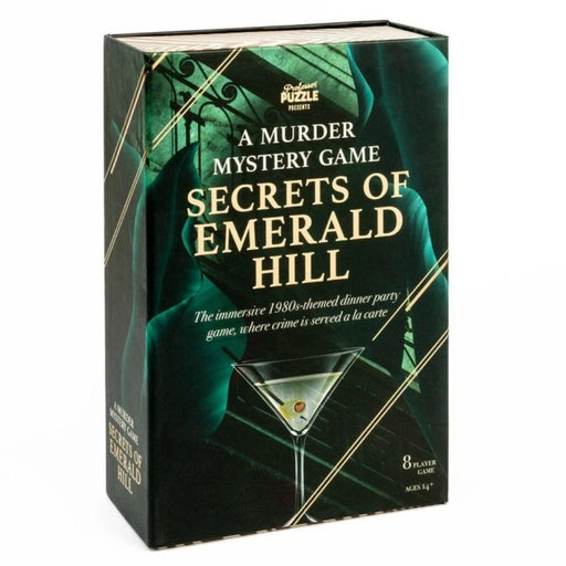 Secrets of Emerald Hill - Murder Mystery Party Game - The Panic Room Escape Ltd