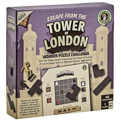 Sherlock Holmes - Escape from the Tower of London - The Panic Room Escape Ltd