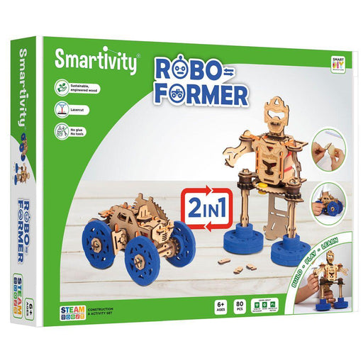 Smartivity - Roboformer - The Panic Room Escape Ltd