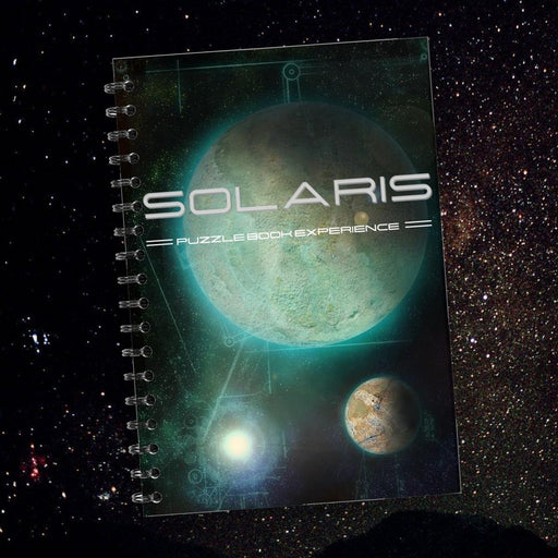 Solaris - Puzzle Book Experience  - The Panic Room Escape Ltd