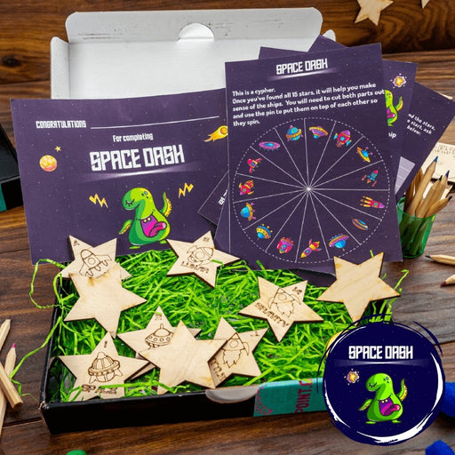 Space Dash - Play At Home Puzzle Adventure Kit - The Panic Room Escape Ltd