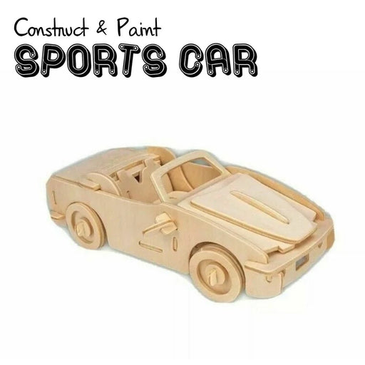 Sports Car Construction Kit & Paint Set - The Panic Room Escape Ltd