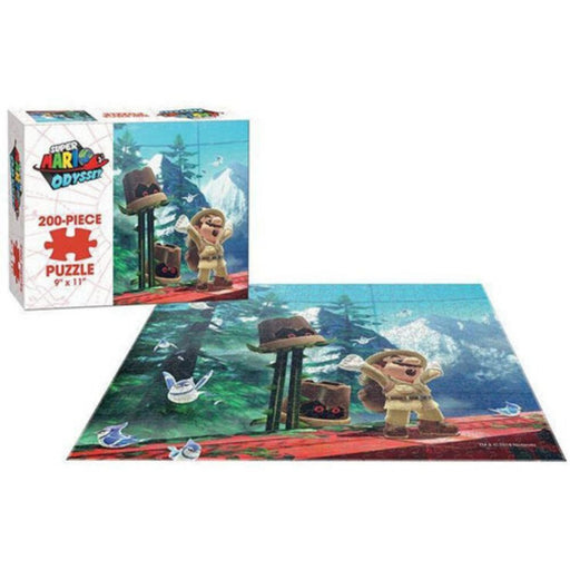 Super Mario Odyssey Wooded Jigsaw - The Panic Room Escape Ltd