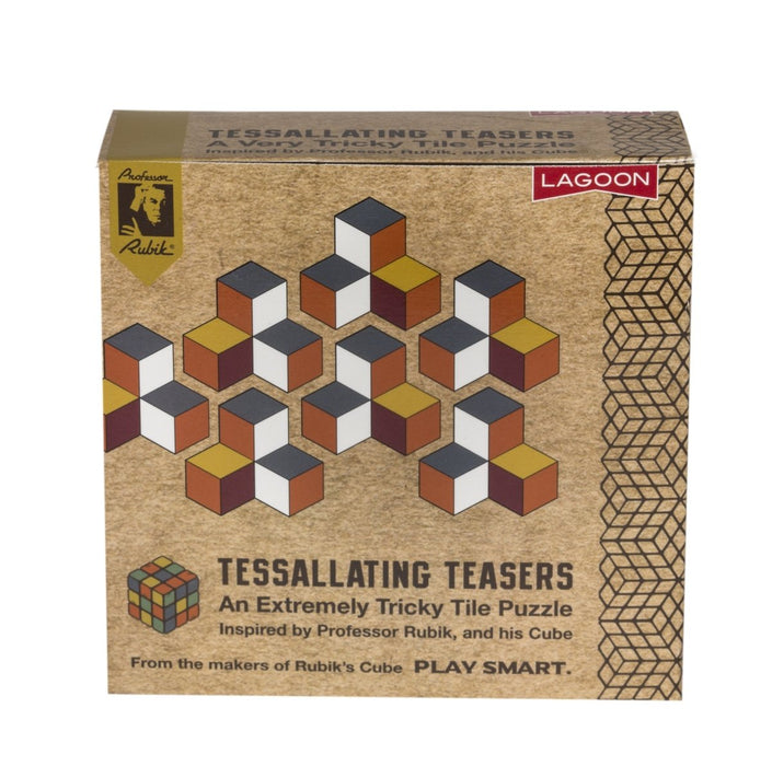 Tessellating Teasers (3 to choose from) - Professor Rubik - The Panic Room Escape Ltd