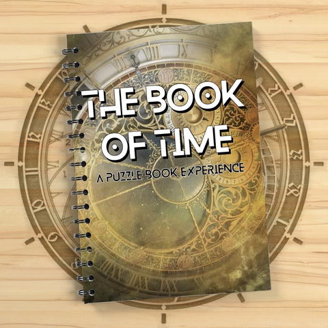 The Book Of Time - Puzzle Book Experience - The Panic Room Escape Ltd