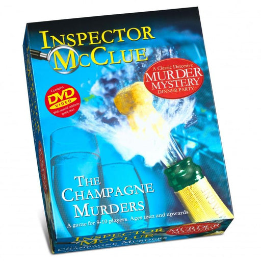The Champagne Murders - Murder Mystery Party Game - The Panic Room Escape Ltd