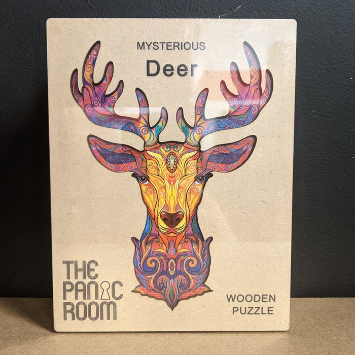 The Deer - Deluxe 3D Wooden Jigsaw Puzzle - The Panic Room Escape Ltd