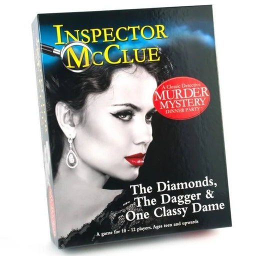 The Diamonds, the Dagger & One Classy Dame - Murder Mystery Party Game - The Panic Room Escape Ltd