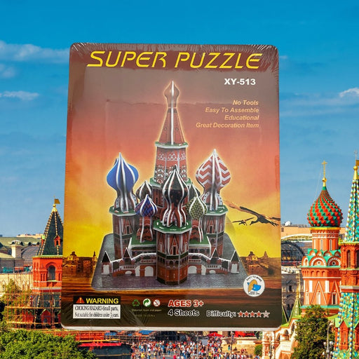 The Kremlin - 3D Landmark Puzzle - The Panic Room Escape Ltd