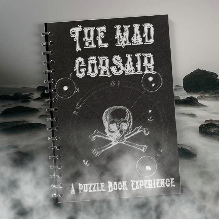 The Mad Corsair - Puzzle Book Experience (PRE-ORDER) - The Panic Room Escape Ltd