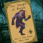 The Naught Of Beasts - Print & Play Escape Room Game - The Panic Room Escape Ltd
