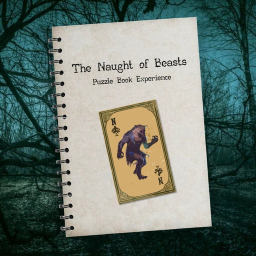 The Naught Of Beasts - Puzzle Book Experience - The Panic Room Escape Ltd