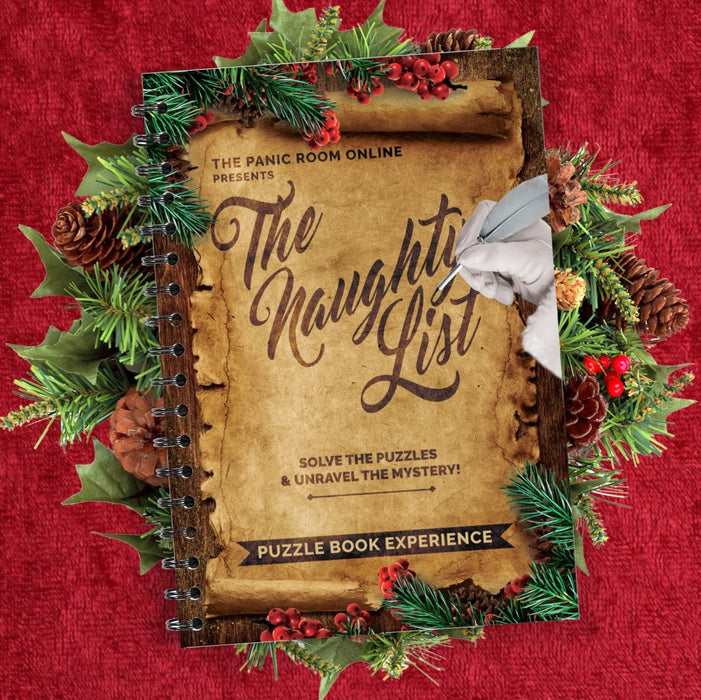 The Naughty List - Puzzle Book Experience - The Panic Room Escape Ltd