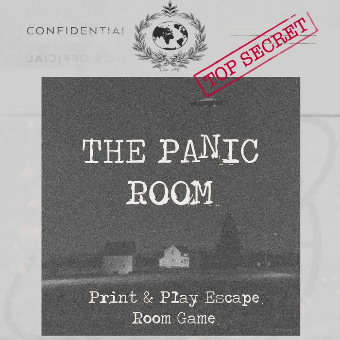 The Panic Room - Print & Play Escape Room Game - The Panic Room Escape Ltd
