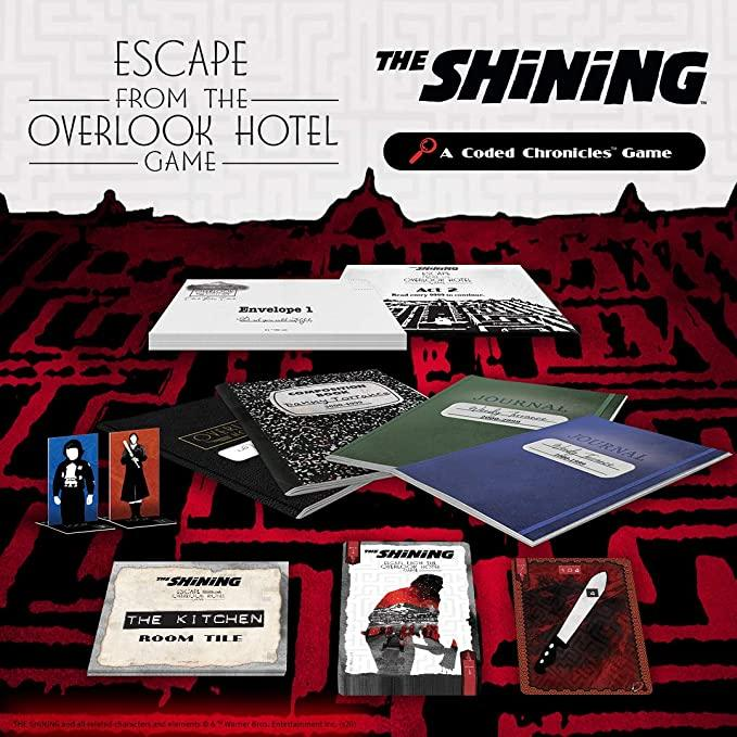 The Shining: Escape from the Overlook Hotel – A Coded Chronicles Game - The Panic Room Escape Ltd