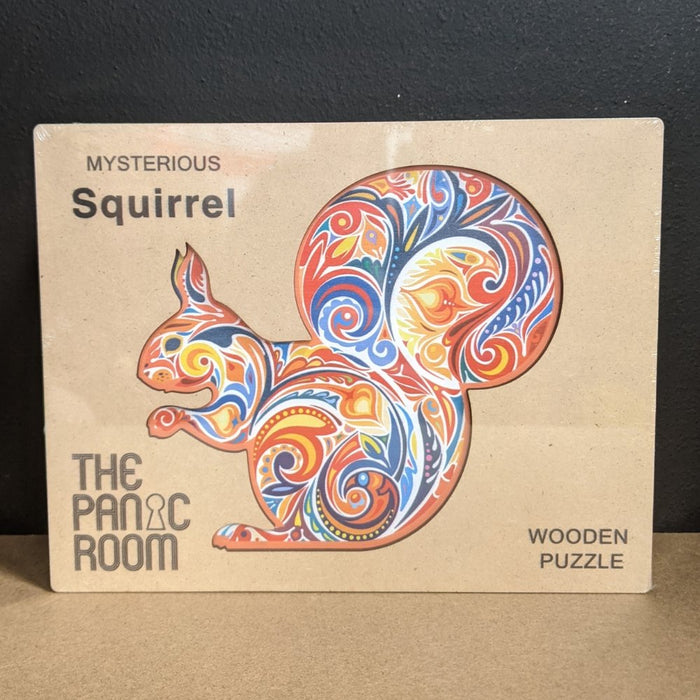 The Squirrel - Deluxe 3D Wooden Jigsaw Puzzle - The Panic Room Escape Ltd