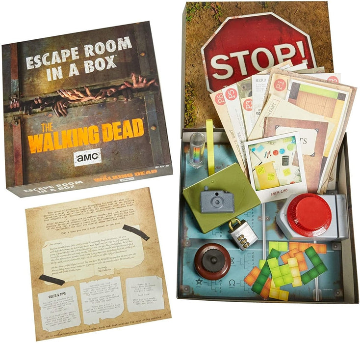 The Walking Dead - Escape Room In A Box - The Panic Room Escape Ltd