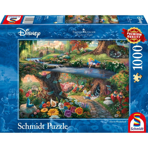 Thomas Kinkade – Disney: Alice in Wonderland, 1000 pcs - The Panic Room Escape Ltd