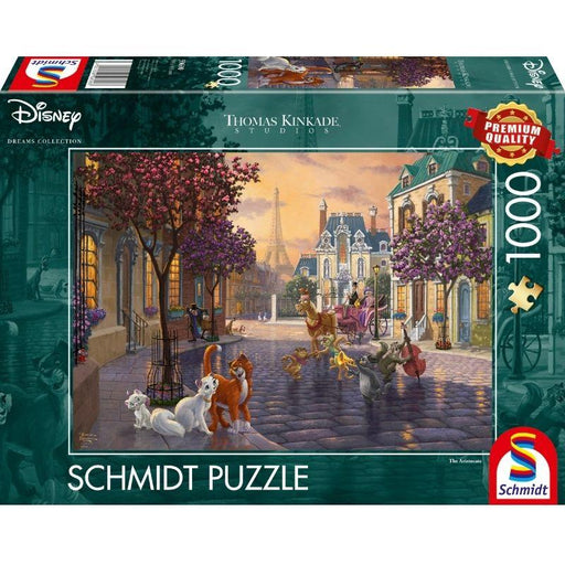 Thomas Kinkade – Disney: Aristocats, 1000 pcs - The Panic Room Escape Ltd