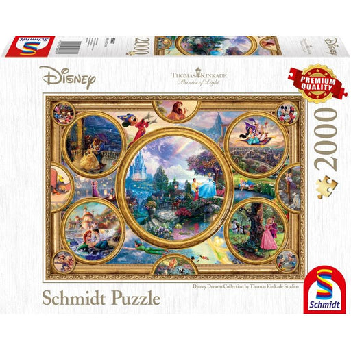 Thomas Kinkade – Disney: Dreams Collection, 2000 pcs - The Panic Room Escape Ltd