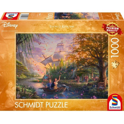 Thomas Kinkade – Disney: Pocahontas, 1000 pcs - The Panic Room Escape Ltd