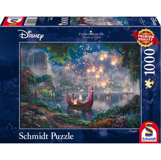 Thomas Kinkade – Disney: Tangled, 1000 pcs - The Panic Room Escape Ltd