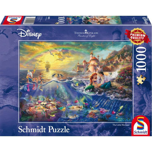 Thomas Kinkade – Disney: The Little Mermaid, 1000 pcs - The Panic Room Escape Ltd