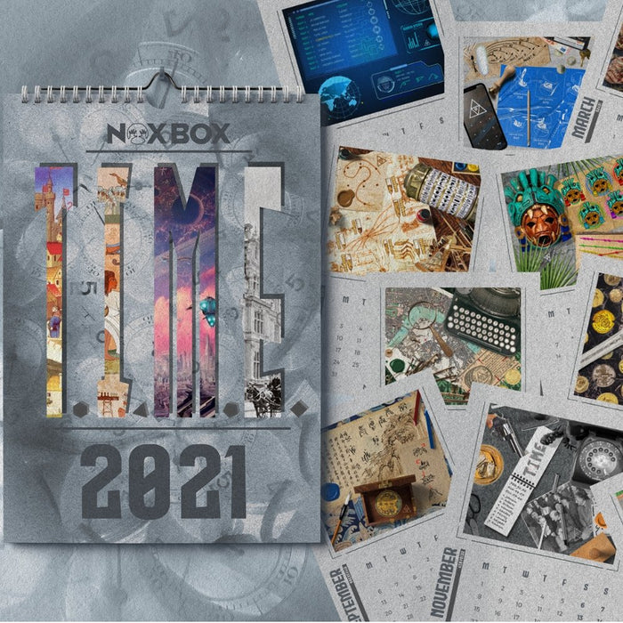 T.I.M.E - Escape Room Calendar 2021 (PRE-ORDER) - The Panic Room Escape Ltd