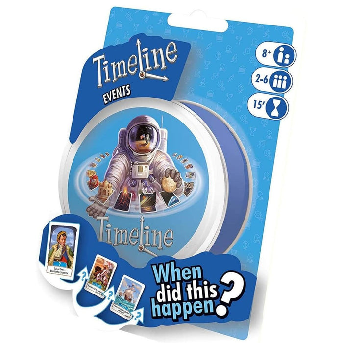 Timeline: Events - Blister Pack - The Panic Room Escape Ltd