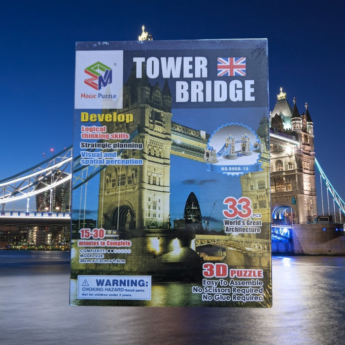 Tower Bridge - 3D Puzzle - The Panic Room Escape Ltd