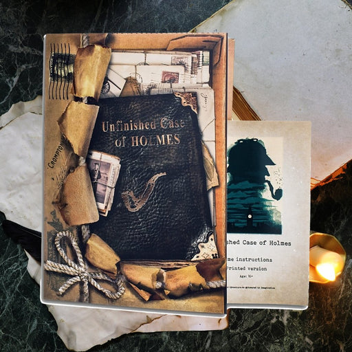 Unfinished Case Of Holmes - Escape Room Game - The Panic Room Escape Ltd