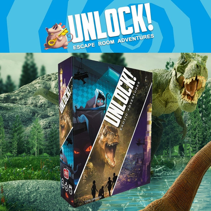 UNLOCK! - 9 Games To Choose From - The Panic Room Escape Ltd