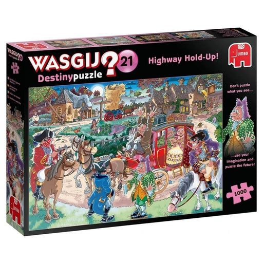 Wasgij Destiny 21 - Highway Holdup 1000 piece Jigsaw Puzzle - The Panic Room Escape Ltd