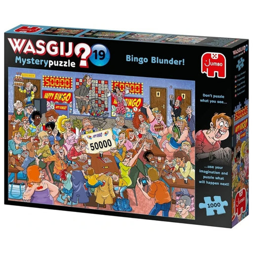 Wasgij Mystery 19-Bingo Blunder 1000 Piece Jigsaw Puzzle - The Panic Room Escape Ltd