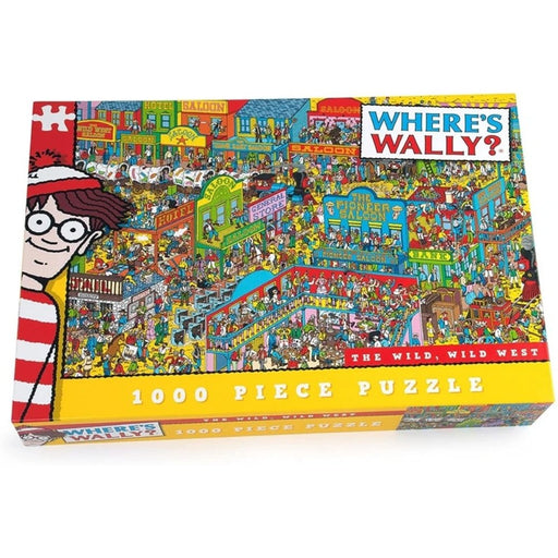 Where's Wally Wild West Puzzle (1000 Pieces) - The Panic Room Escape Ltd