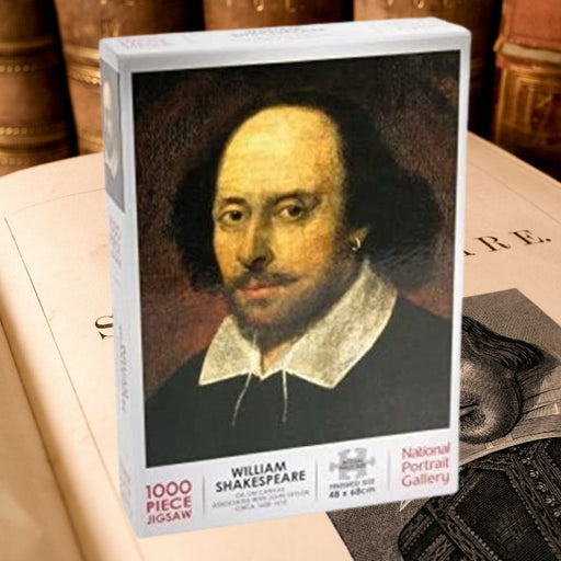 William Shakespeare 1000 Piece Jigsaw - The Panic Room Escape Ltd