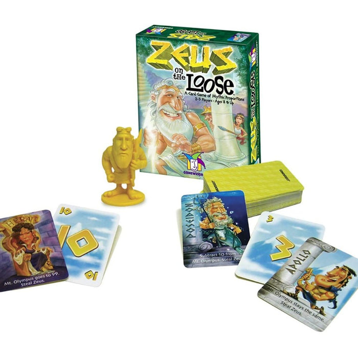Zeus On The Loose - Card Game - The Panic Room Escape Ltd