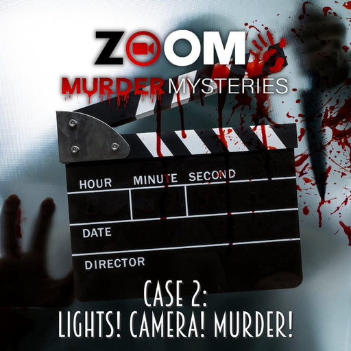 Zoom Murder Mysteries - Lights! Camera! Murder! - The Panic Room Escape Ltd