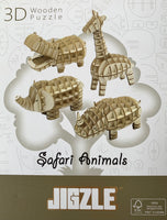 NEW! Creative Workshop with 4 models - Safari Animals