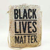 BLACK LIVES MATTER Clutch Bag